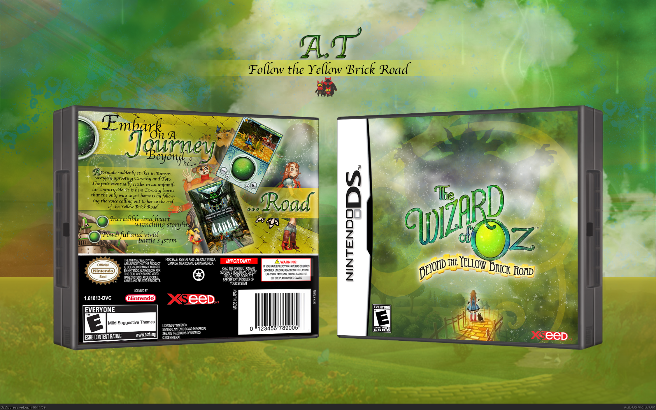 The Wizard of Oz: Beyond the Yellow Brick Road box cover