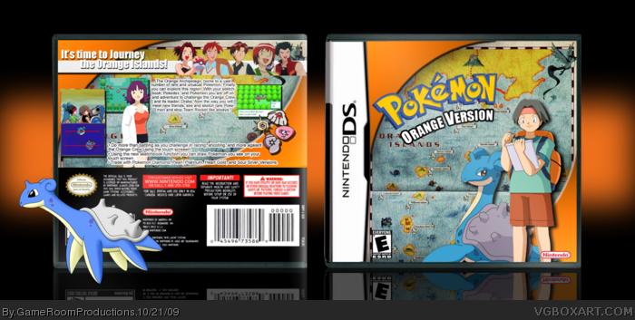 Pokemon Orange Version box art cover