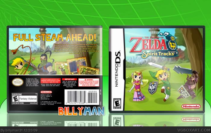 Nintendo DS » The Legend of Zelda: Spirit Tracks Box Cover ? ?