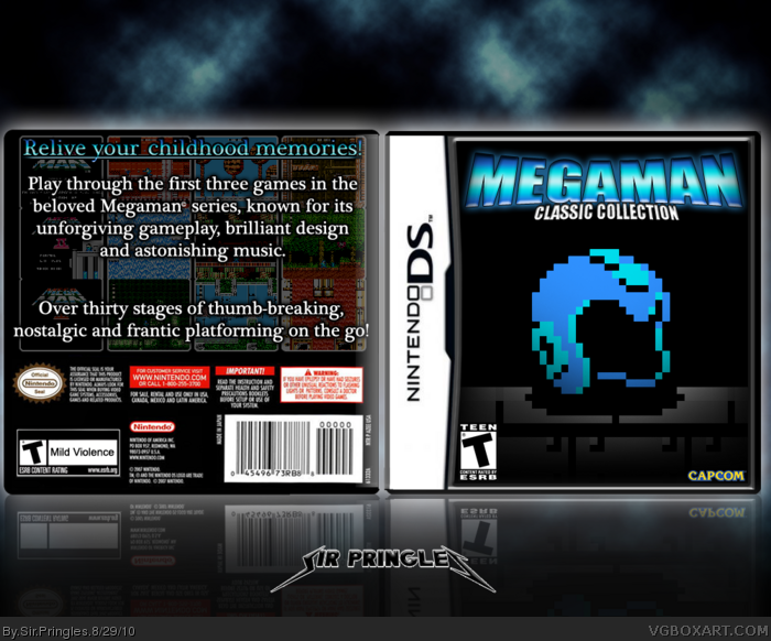 Megaman: Classic Collection box art cover