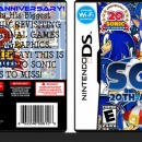 Sonic The Hedgehog 20th Anniversary Collection Box Art Cover