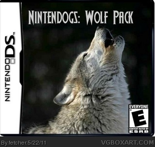 Nintendogs: Wolf Pack box cover