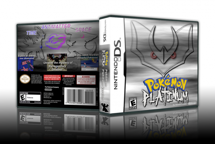 Pokemon Platinum box art cover