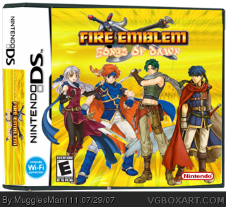 Fire Emblem: Songs Of Dawn box cover