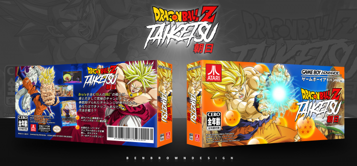 DragonBall Z: Taiketsu box art cover
