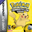 Pokemon Thunder Yellow Version Box Art Cover
