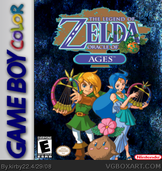 The Legend of Zelda: Oracle of Ages box cover
