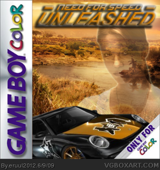 Need for Speed: Unleashed box cover