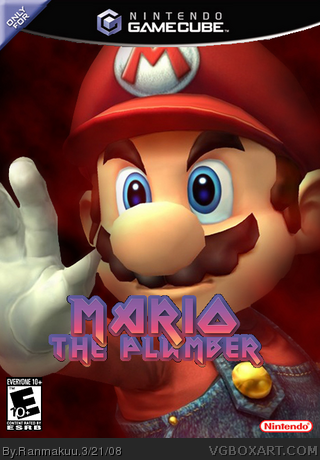 Mario The Plumber box cover