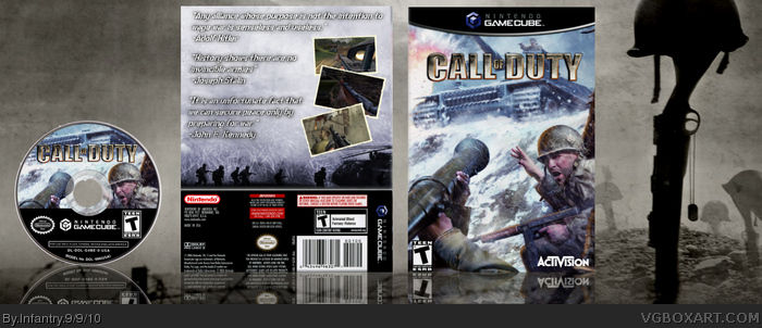Call of Duty box art cover