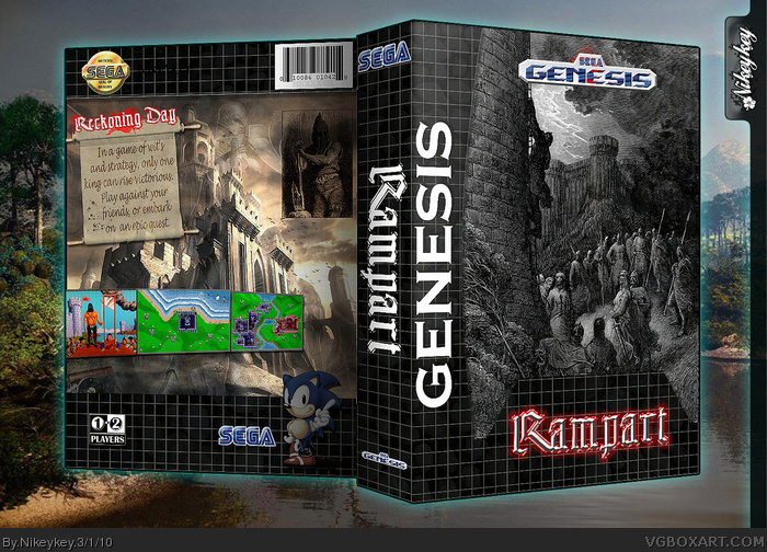 Rampart box art cover
