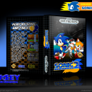 Sonic the Hedgehog 2 Box Art Cover