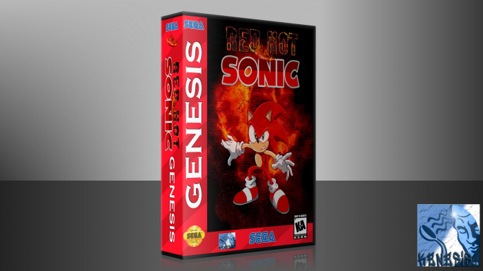 Red Hot Sonic box art cover