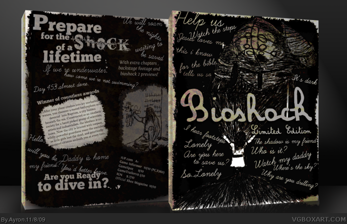 Bioshock Limited Edition box art cover