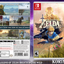 The Legend of Zelda Breath of the Wild Box Art Cover