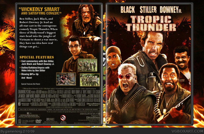 Tropic Thunder box art cover