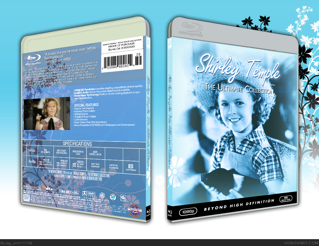 Shirley Temple Collection box cover