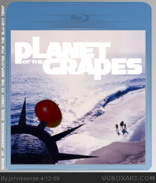 Planet of the Grapes box cover