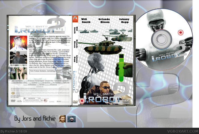 I Robot 2 box art cover