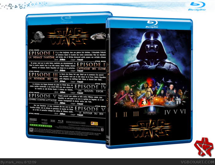 Star Wars Saga box art cover