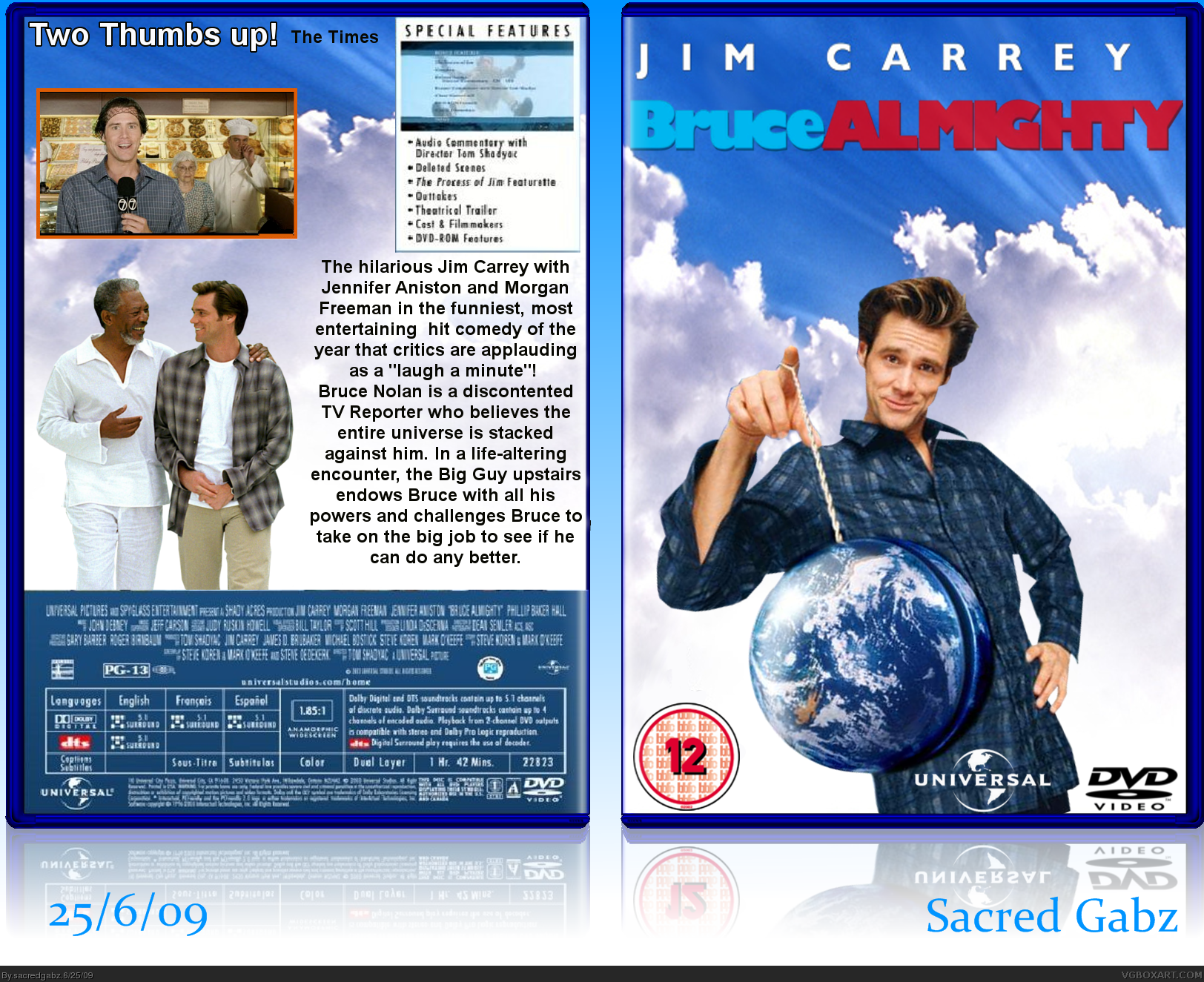 Bruce Almighty box cover