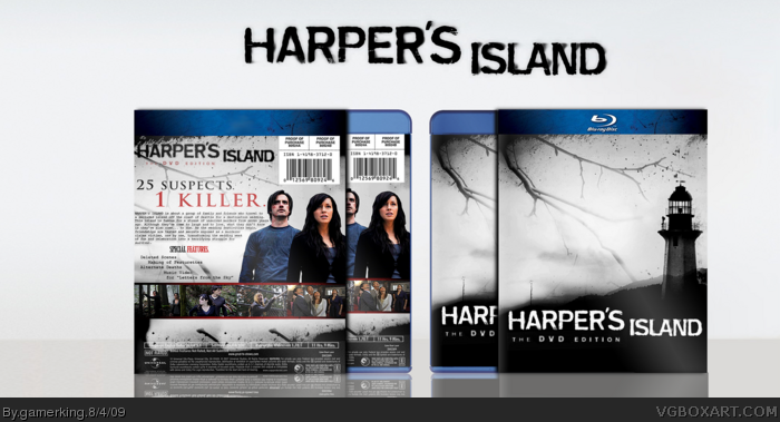 Harper's Island: The DVD Edition box art cover
