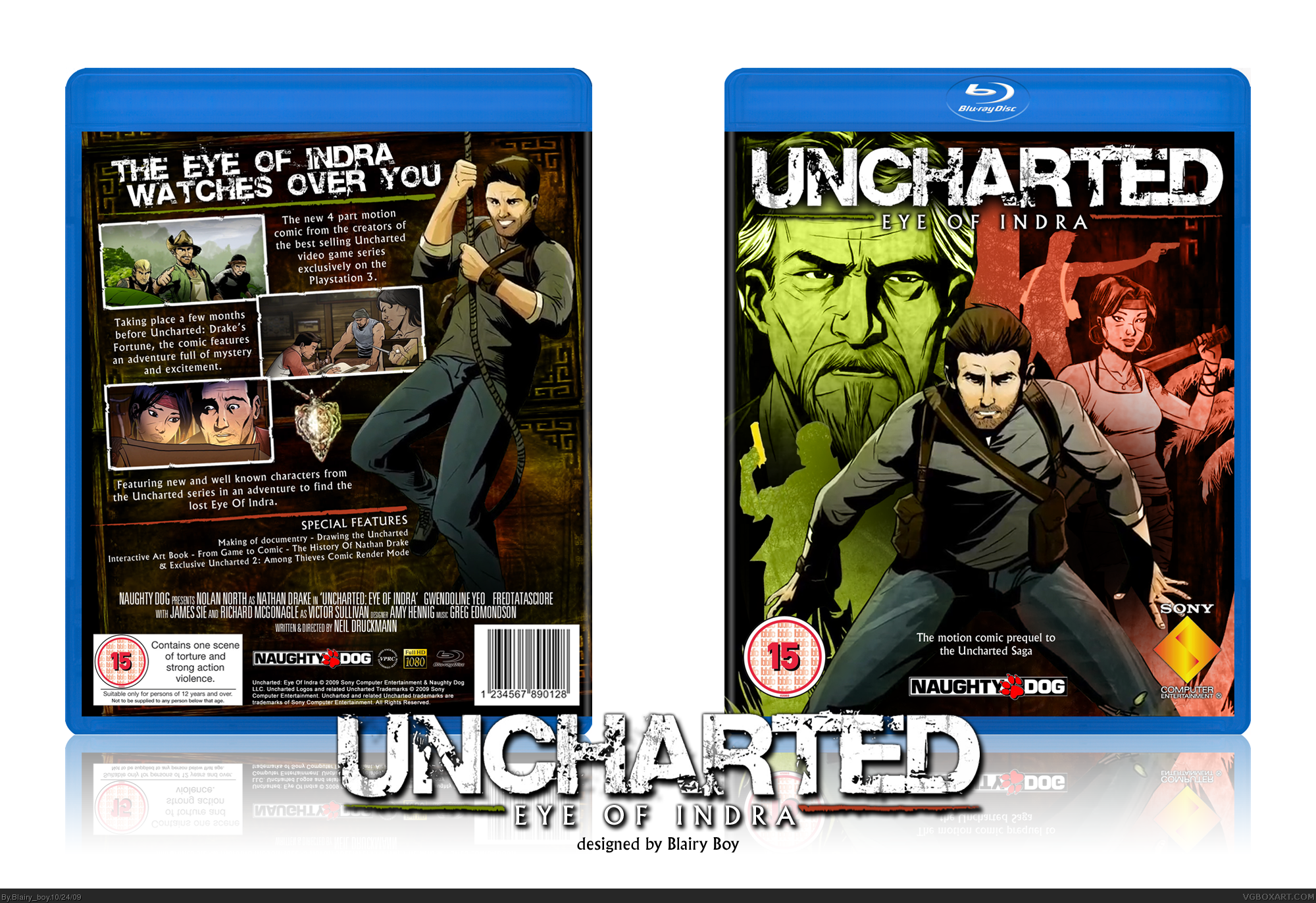 Uncharted: Eye Of Indra box cover