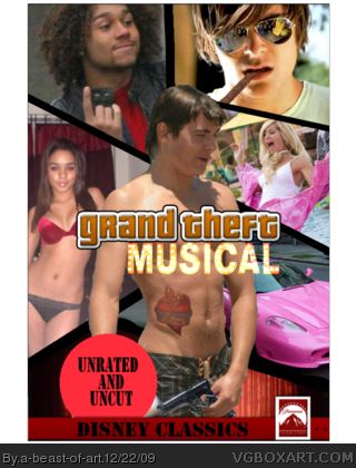 Grand Theft Musical box cover