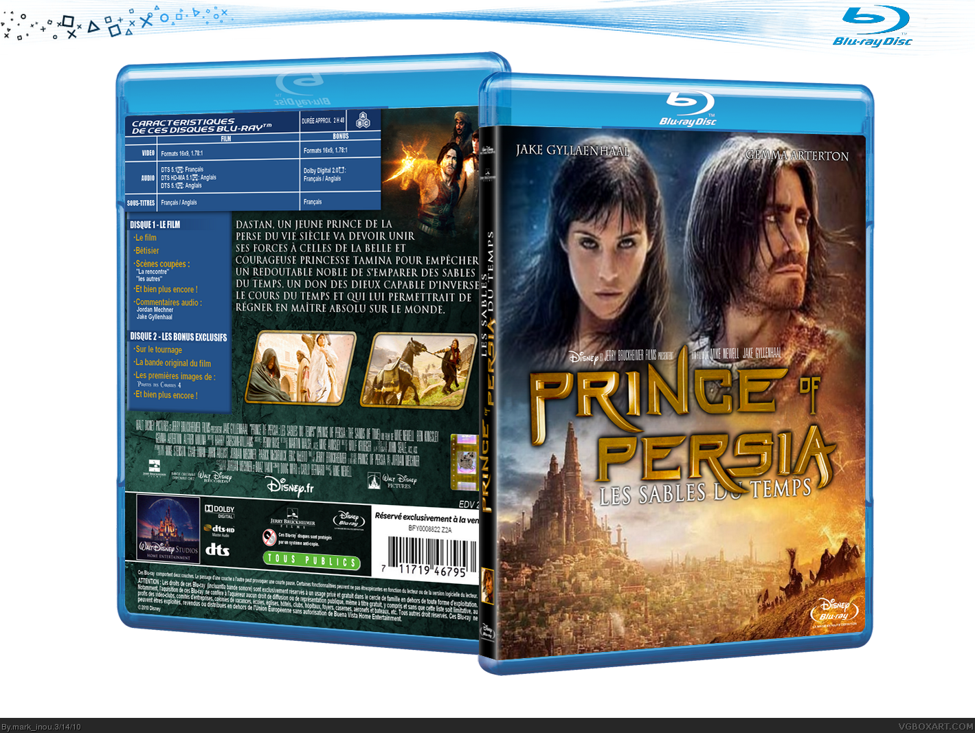 Prince of Persia: The Sands of Time box cover