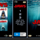 The Jaws Trilogy Box Art Cover