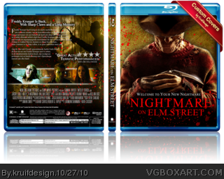 A Nightmare on Elm Street box cover