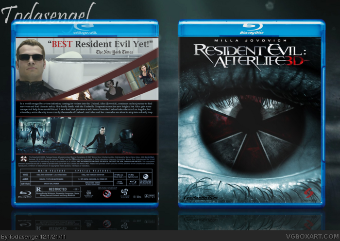 Resident Evil : Afterlife box art cover