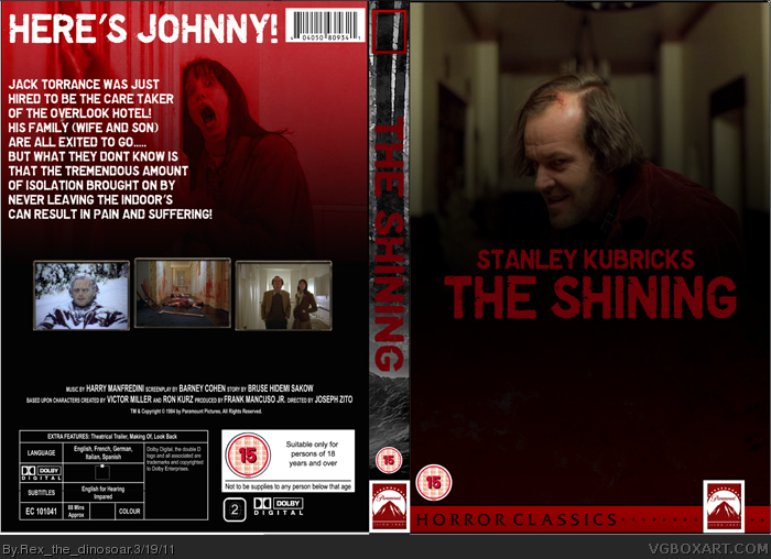 The Shining box cover