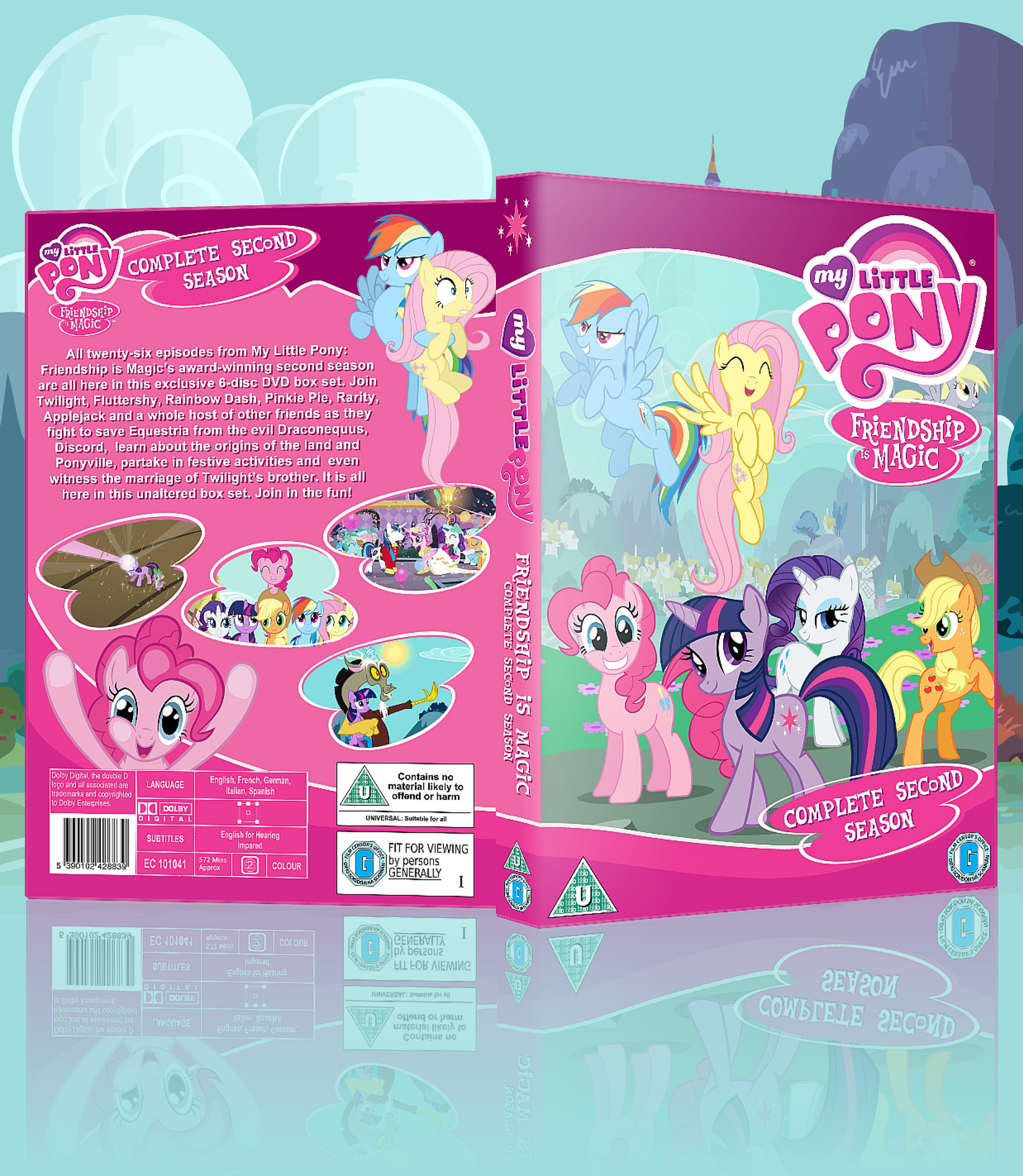 My Little Pony: Friendship is Magic: Season 2 box cover