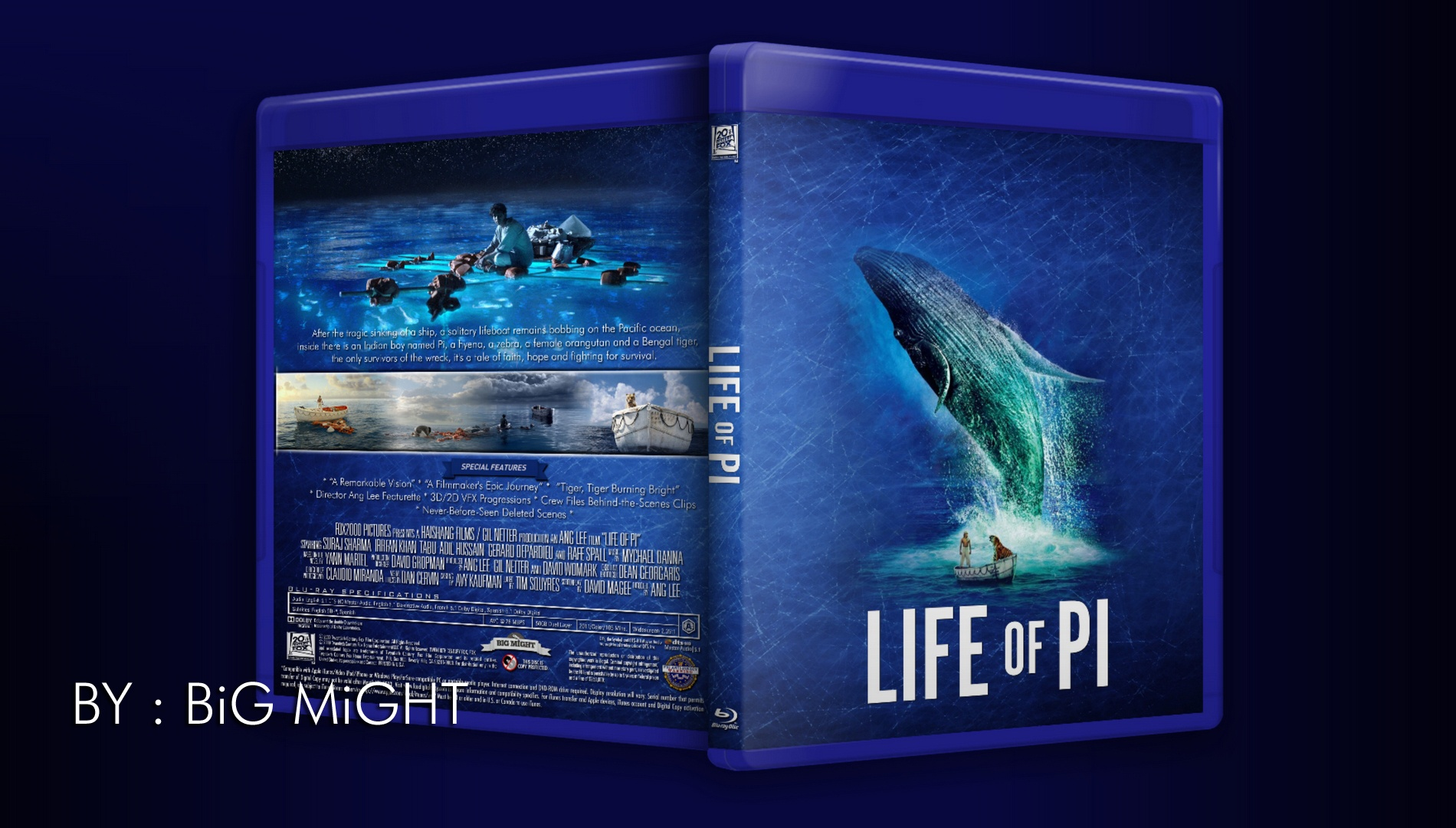 Life of Pi box cover