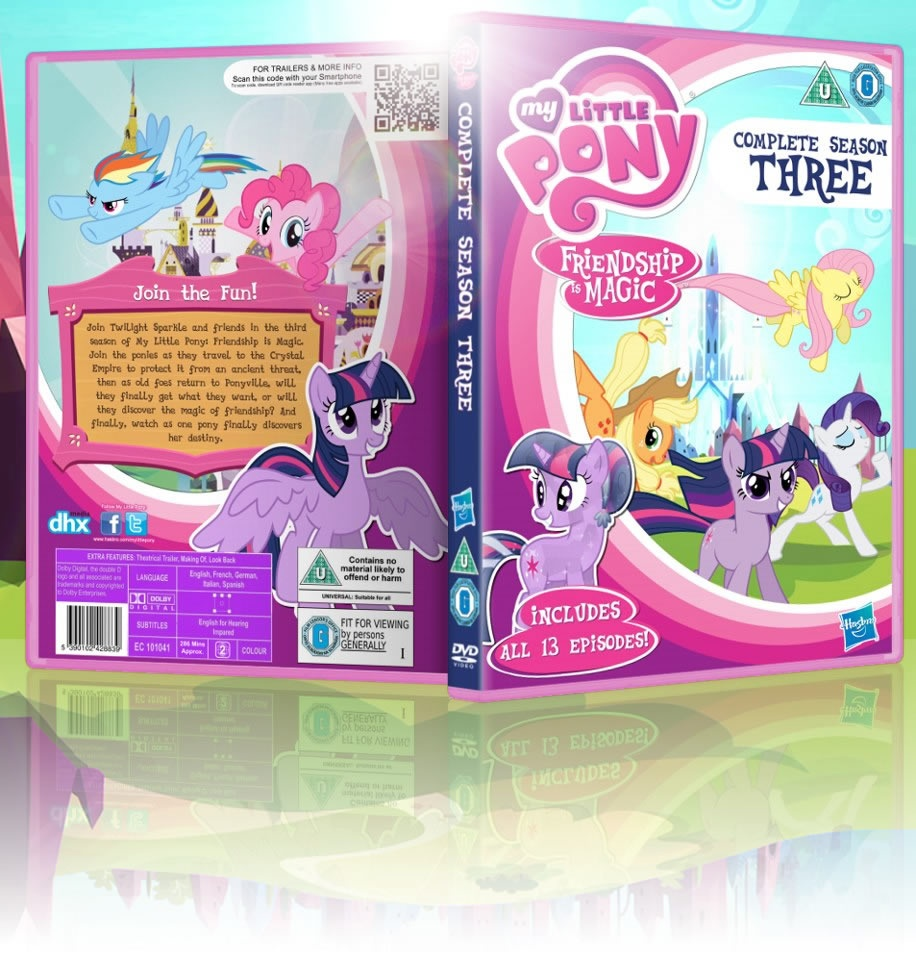 My Little Pony: Friendship is Magic: Season 3 box cover