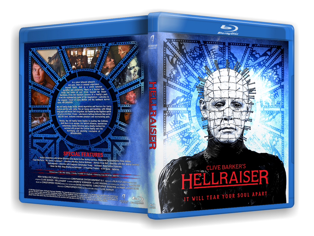 Hellraiser box cover