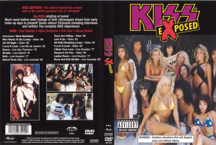 Kiss: Exposed box art cover