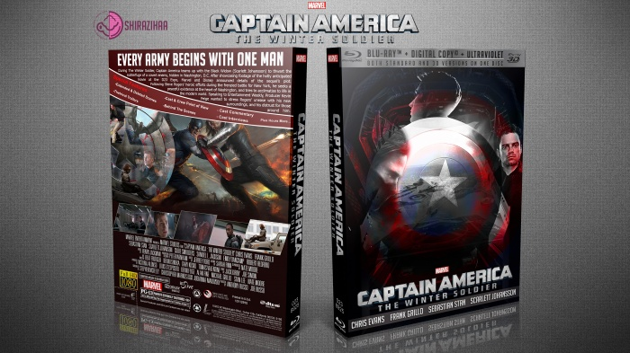 Captain America: The Winter Soldier box art cover