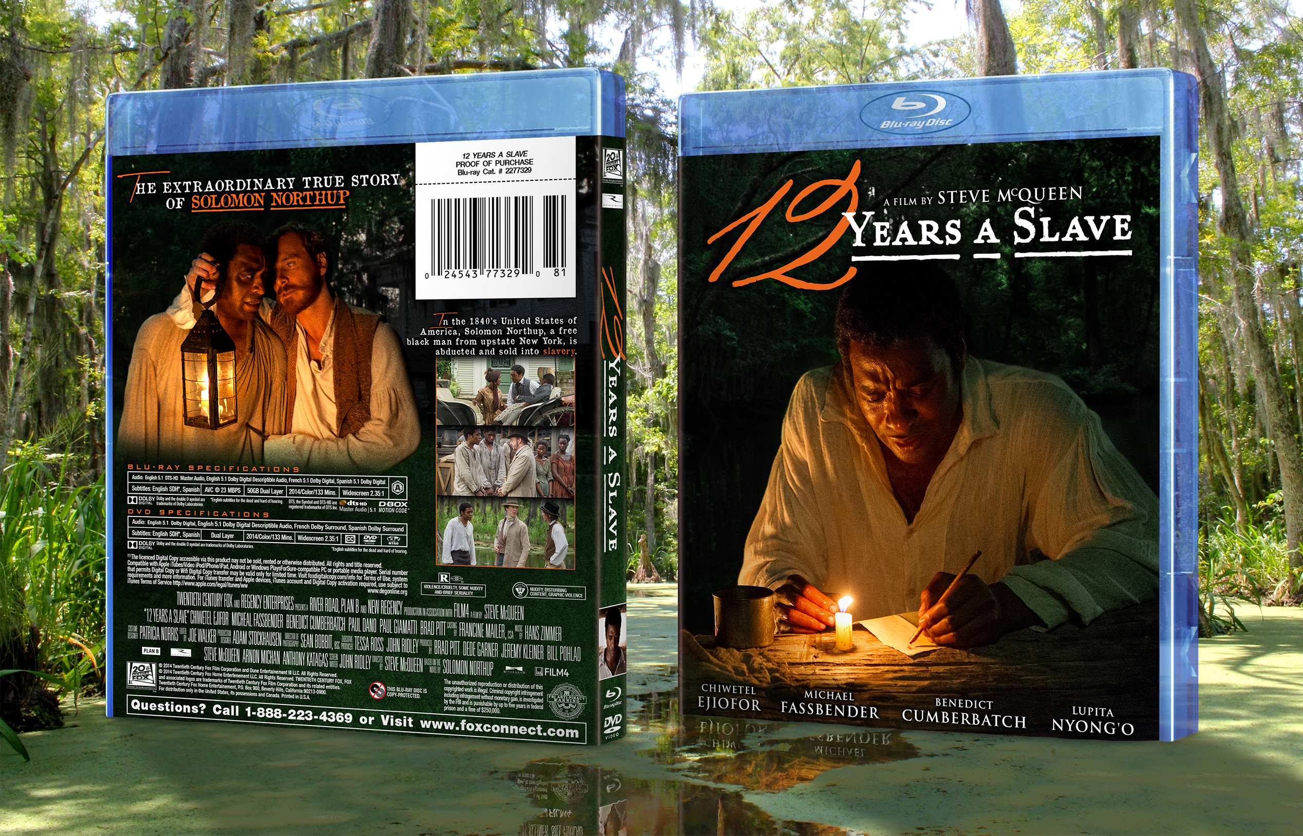 12 Years a Slave box cover