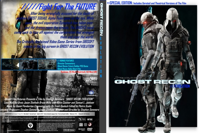 Ghost Recon: Evolution box art cover