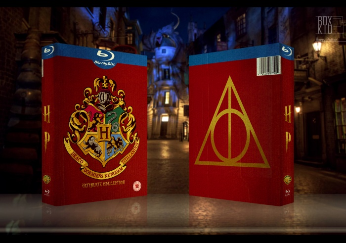 Harry Potter Ultimate Collection box art cover
