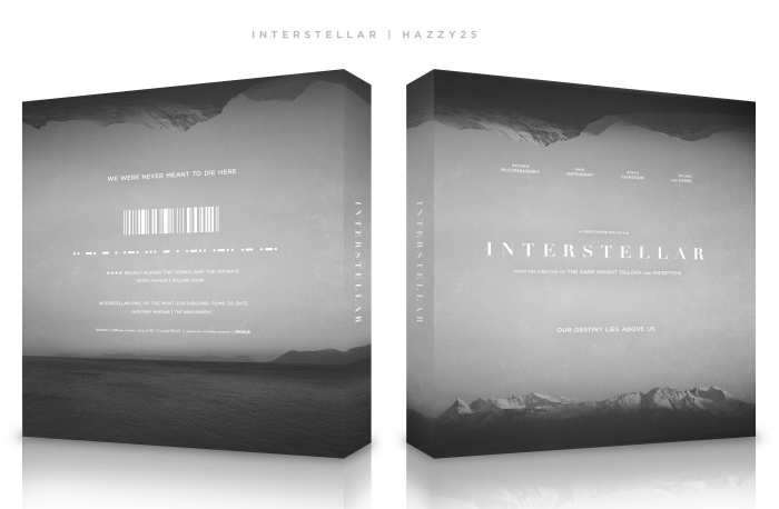 Interstellar box art cover