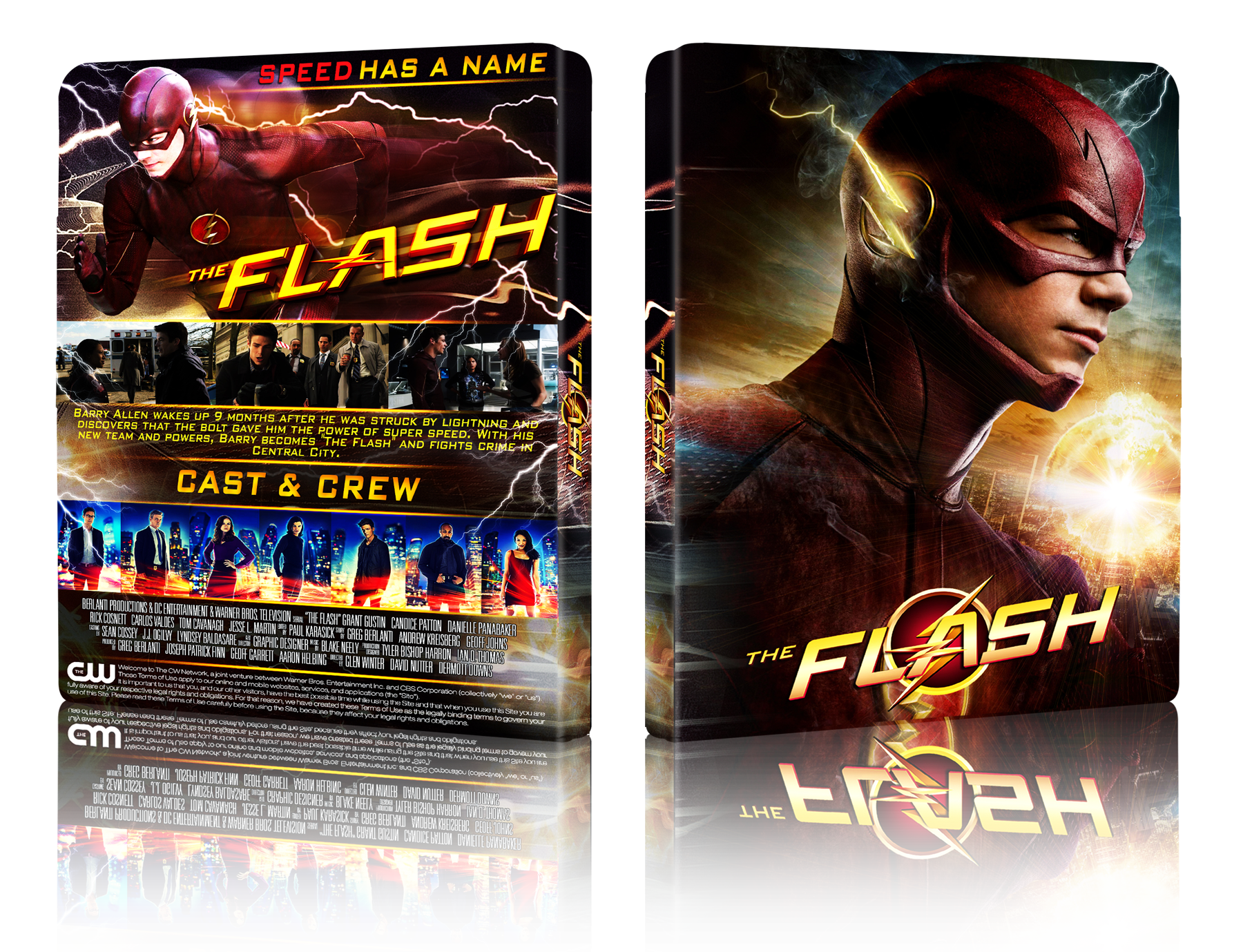 The Flash box cover