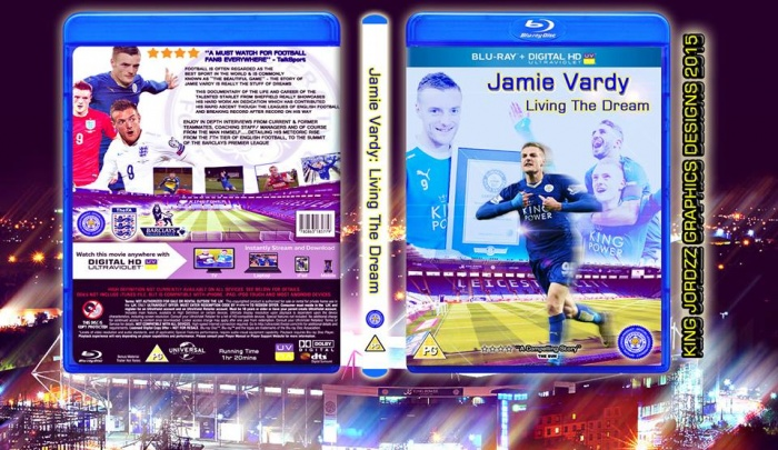 Jamie Vardy: Living the Dream box art cover