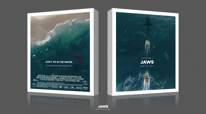 Jaws box art cover