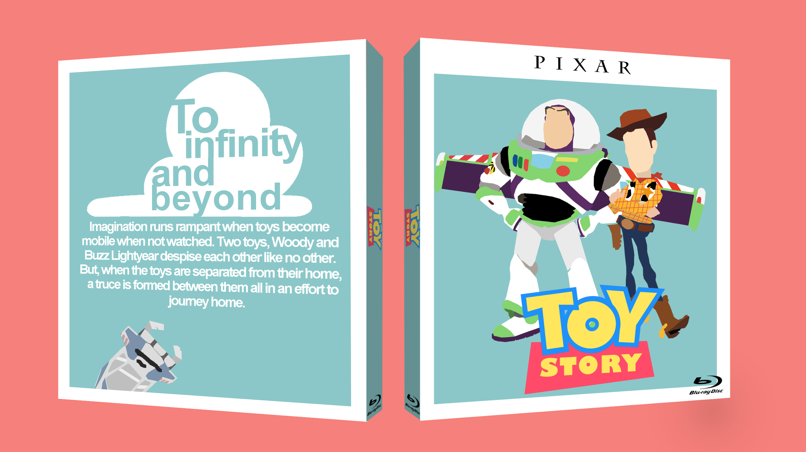 Toy Story box cover