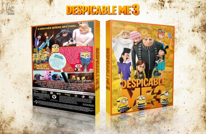 Despicable Me 3 box art cover