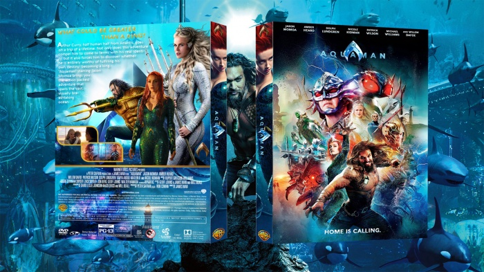 Aquaman box art cover