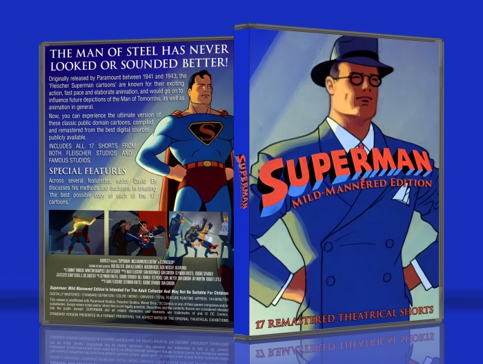Superman: Mild-Mannered Edition box art cover